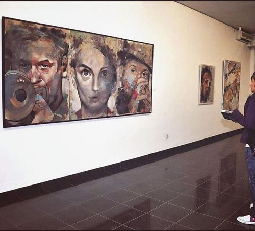 "Picture of Exhbition Skopje ""KIC"" 2015"