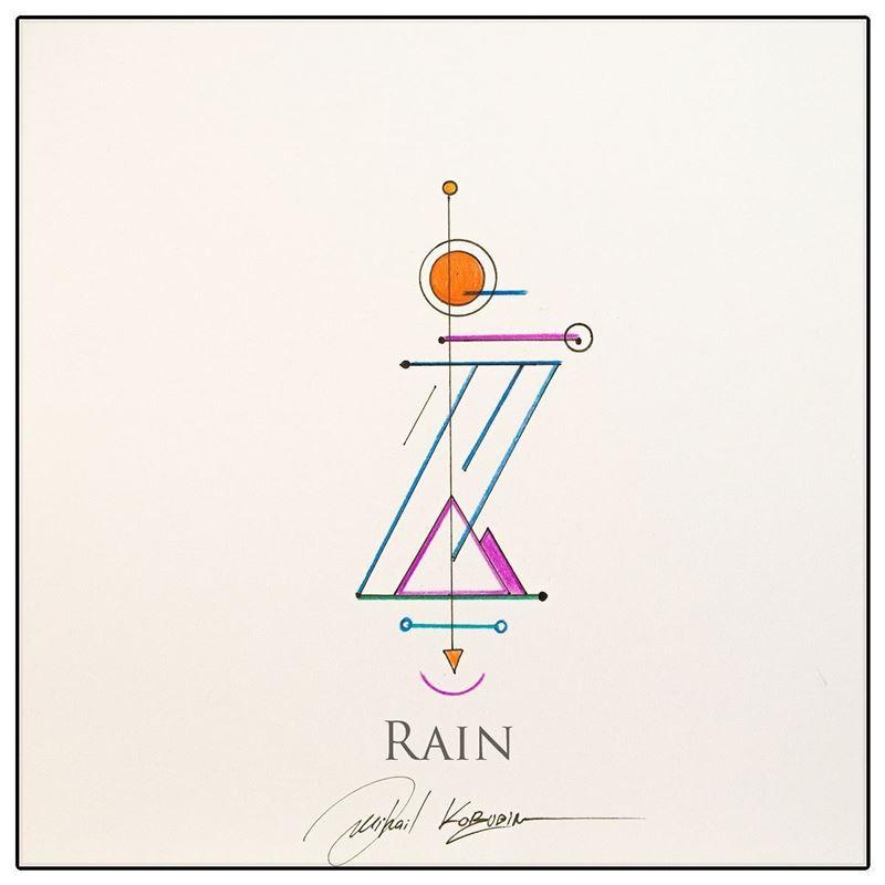Picture of Rain artoken
