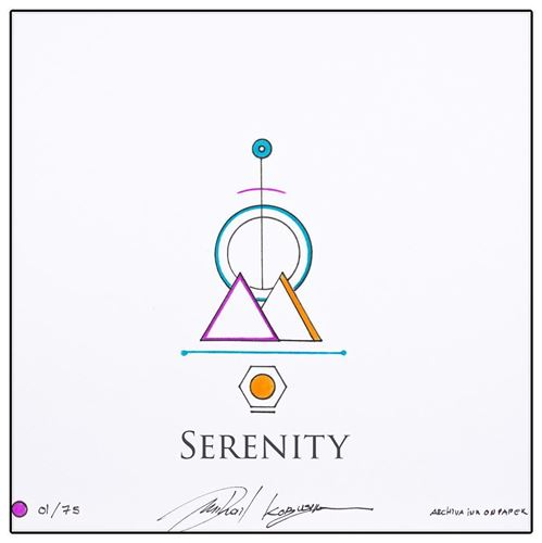 Picture of Serenity 🟣 L . E (  75 pieces)